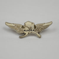 Pewter Pilot Wings Pin