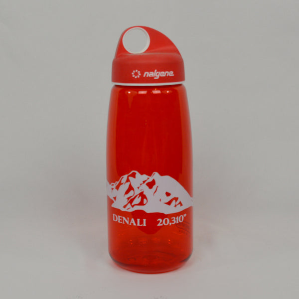 Denali Red Water Bottle