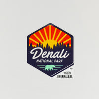Sunrise Hexagonal Sticker