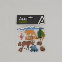 Wilderness 3D Scrapbook Stickers