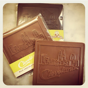 Our new Cleveland Skyline Chocolate Bar