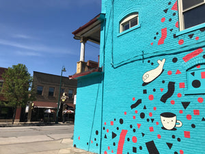 New Murals in the Gordon Square Arts District