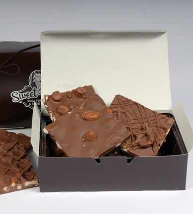 Milk Chocolate Bark Assortment<br/>(Pick Up Only)