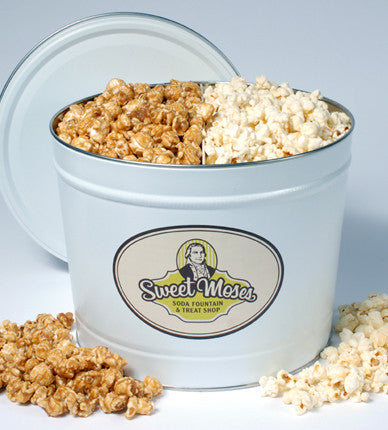 Caramel Corn & <br/>Cheese Corn Split<br/>(Pick Up Only)