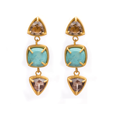Kristine Lily Jewelry - Turquoise Earrings