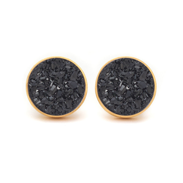 Druzy Pop Stud Earrings