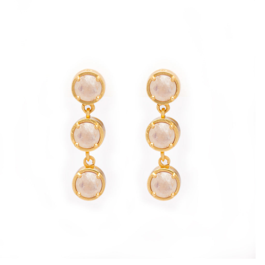 Kristine Lily Moonstone Earrings