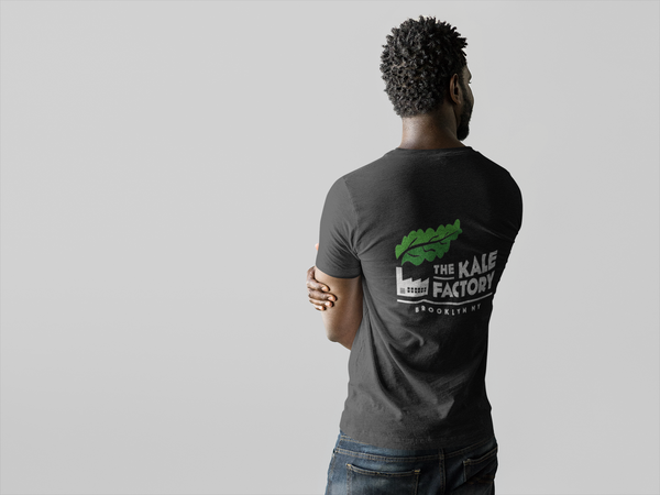 T-Shirt: Kale Factory Classic Logo Two Sided