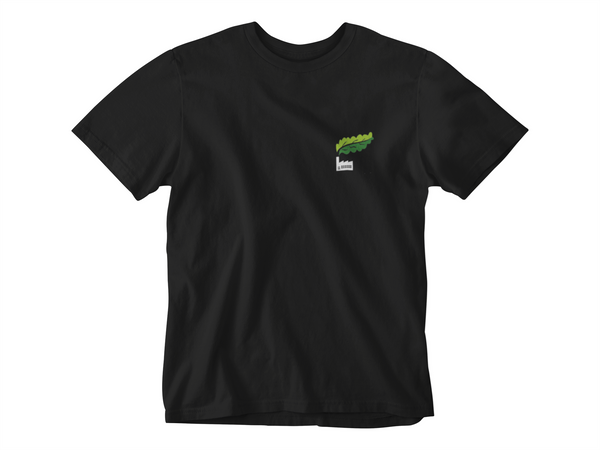 T-Shirt: Kale Factory Emblem and Kale Factory Logo
