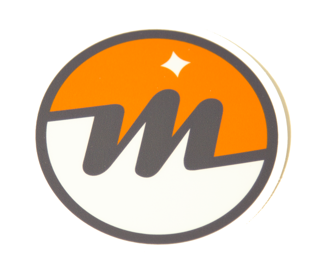 Menlo Logo Sticker