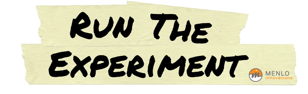 Run the Experiment Sticker