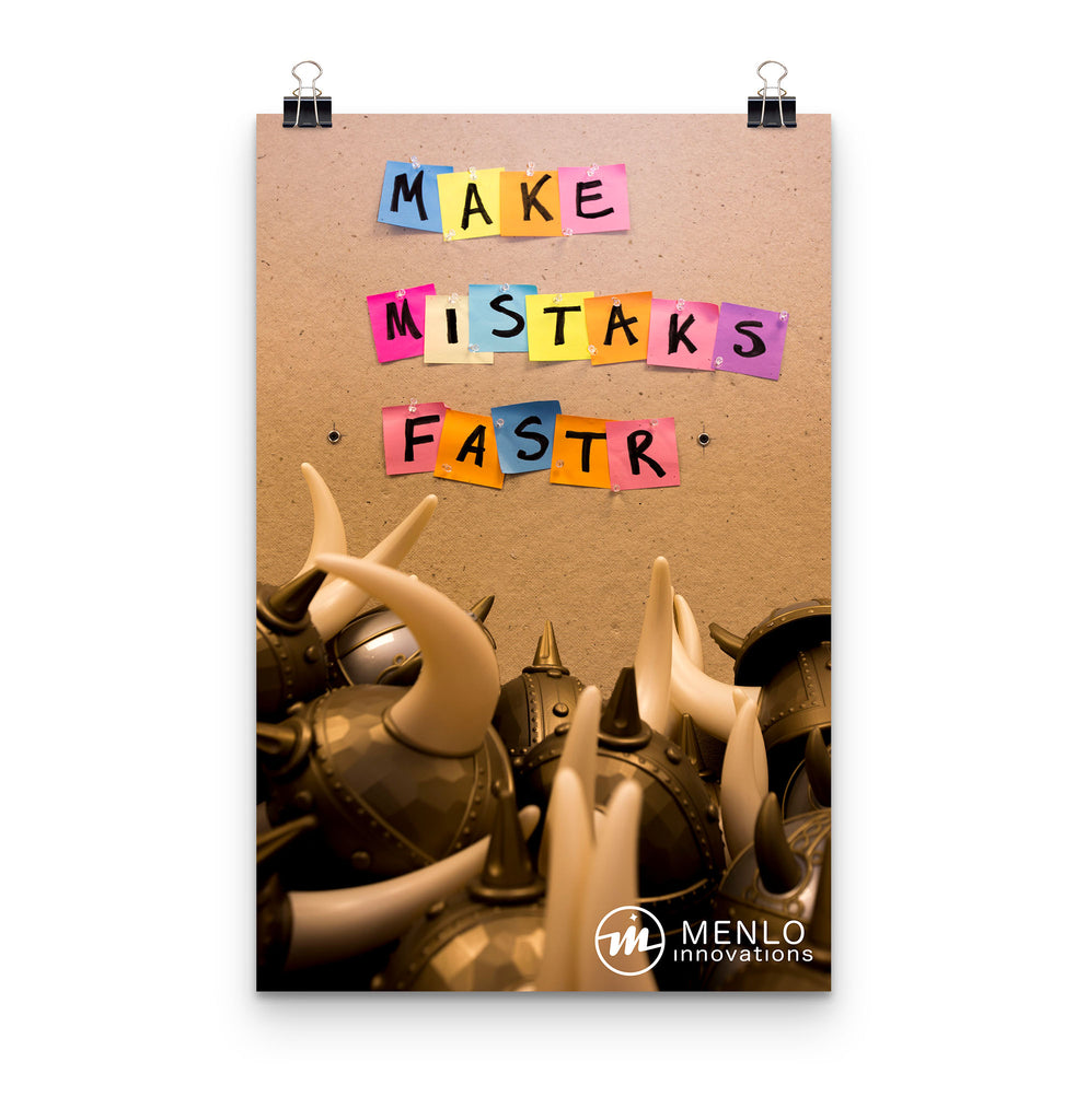 Make Mistakes Faster Poster