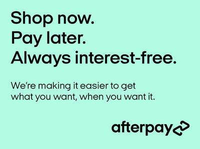 Afterpay available here