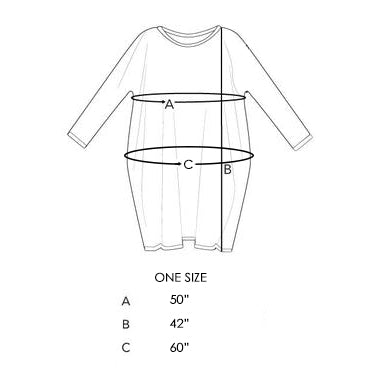 size chart tulip dress