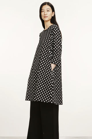Marimekko Aretta Pallo Dress Black/White