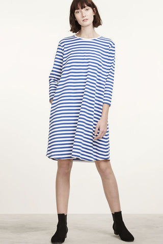 Marimekko Aretta Dress Blue/White