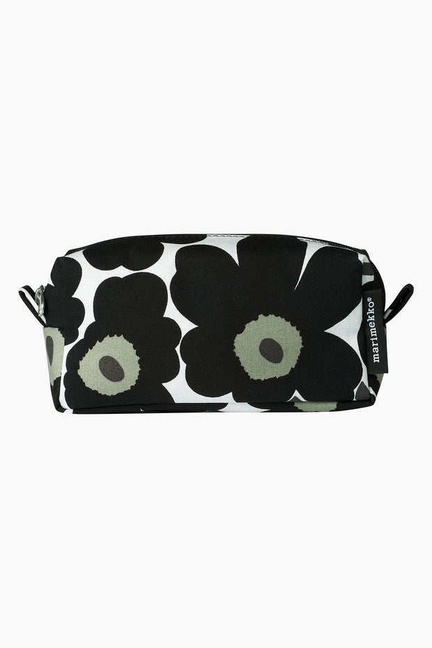 Marimekko Tiise Mini Unikko Cosmetic Bag Black/Cotton