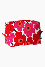 Marimekko Vilja Mini Unikko Cosmetic Bag Red/Cotton
