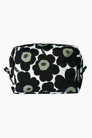 Marimekko Vilja Mini Unikko Cosmetic Bag Black/Cotton