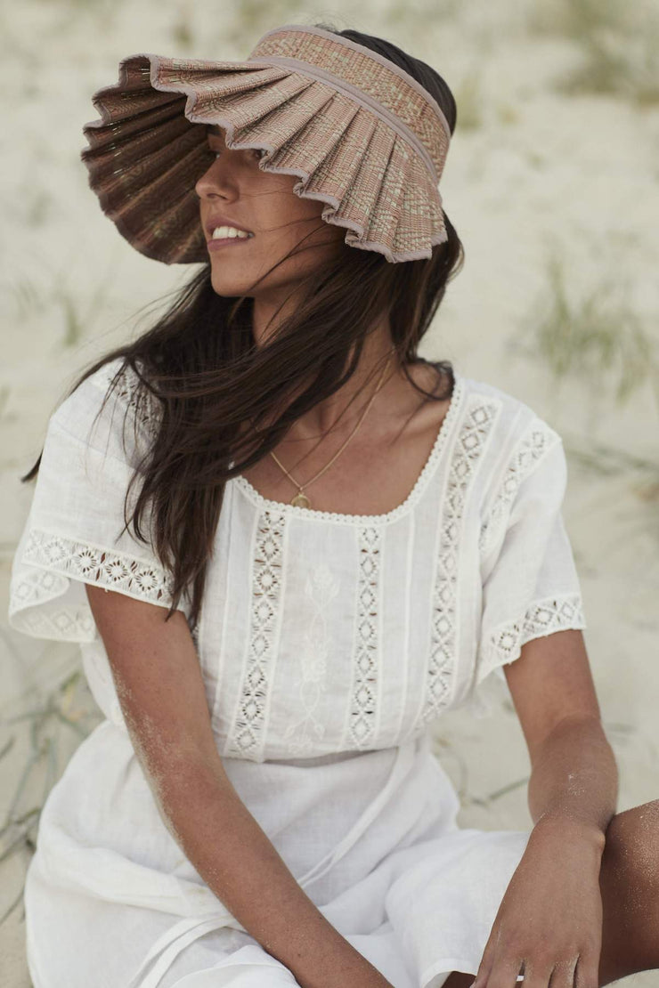 Lorna Murray Ladies Flores Bungalow Cannes Sunvisor