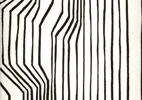 Marimekko  Frekvenssi Wallpaper Black/White