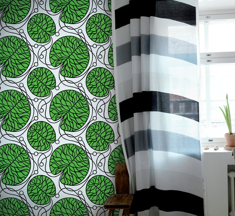 Marimekko  Bottna Wallpaper Green/White