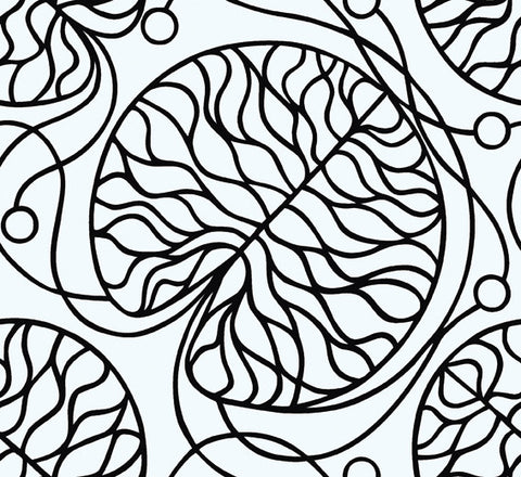Marimekko  Bottna Wallpaper Black/White