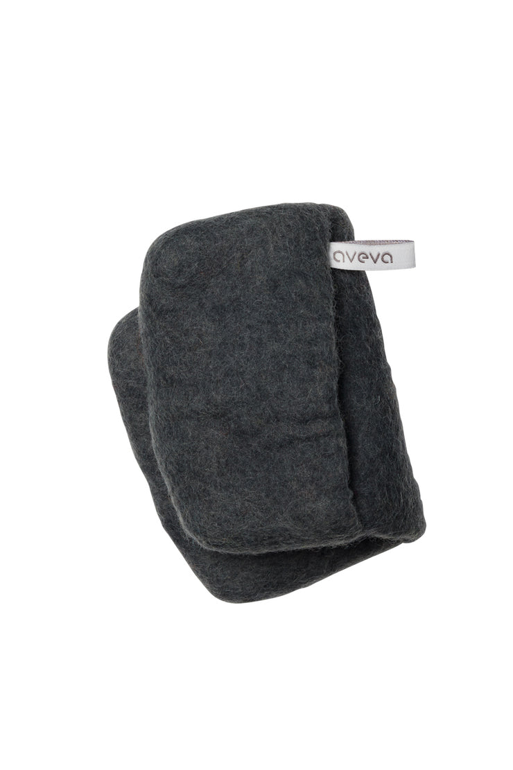 Aveva Wool Felt Potholder Dark Grey