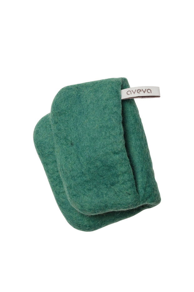 Aveva Wool Felt Potholder Teal