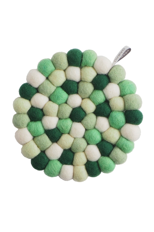 Aveva Wool Felt Trivet Jungle