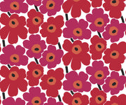 Marimekko Marimekko  Pieni Unikko Wallpaper Berry Red/Crimson Red - KIITOSlife - 1
