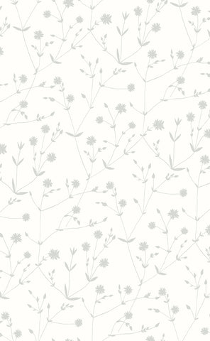 Marimekko  Illalla Wallpaper Cream/Cloud Grey