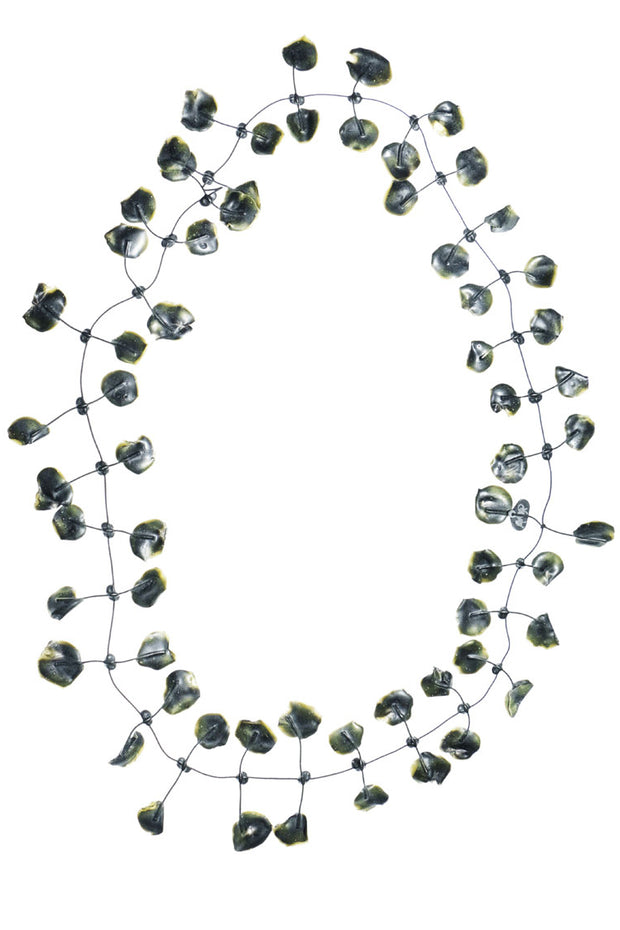 Annemieke Broenink Poppy Necklace Army