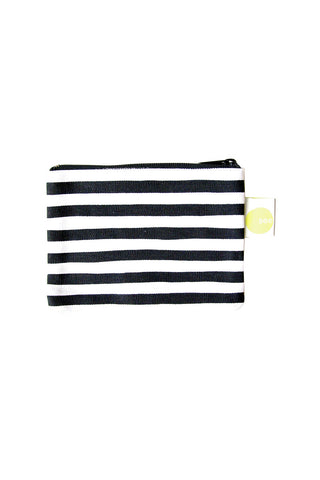 See Design Coin Purse Karma Stripe Black/White
