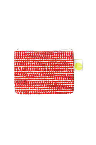 See Design Coin Purse Peas Red/White