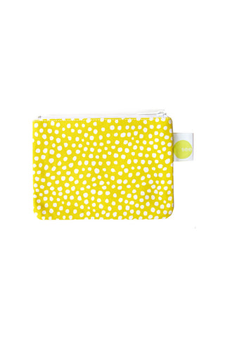 See Design Coin Purse Spots Yellow/White