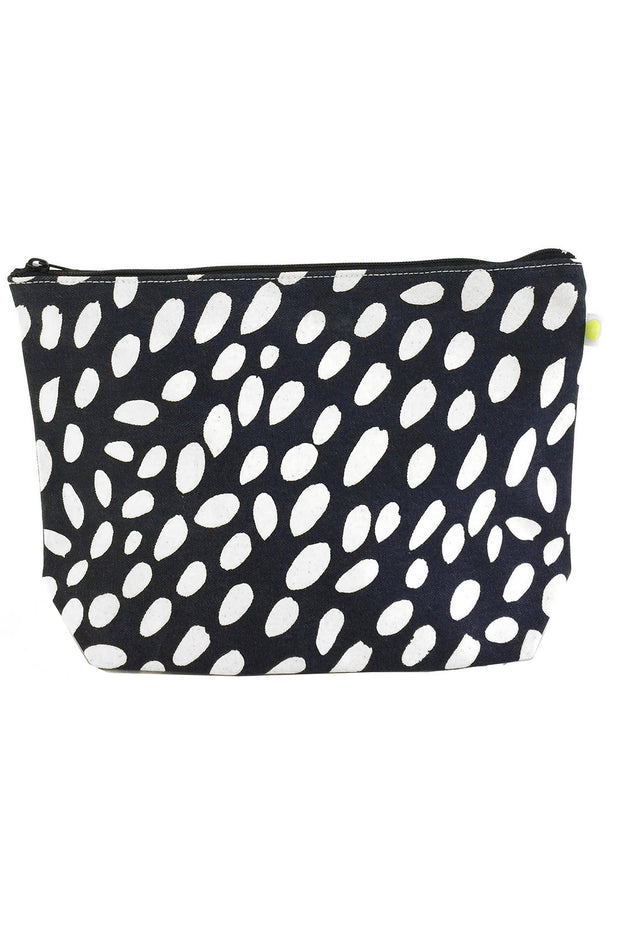 See Design Travel Pouch X-Large Bag Cheetah Black/White