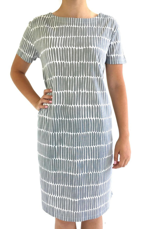 See Design Fence Dress Grey