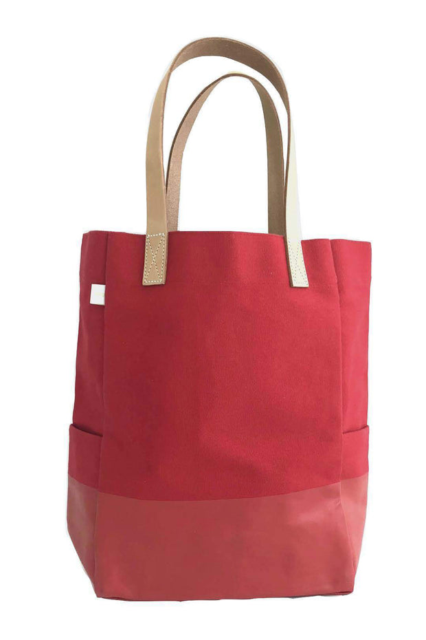 See Design City Tote Bag Red
