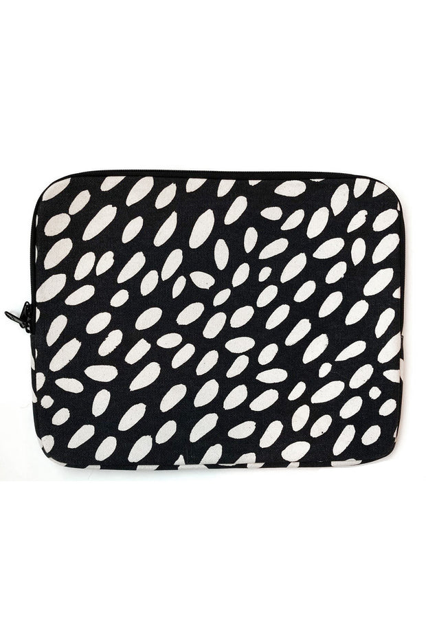 See Design Laptop Cover Cheetah Black/White