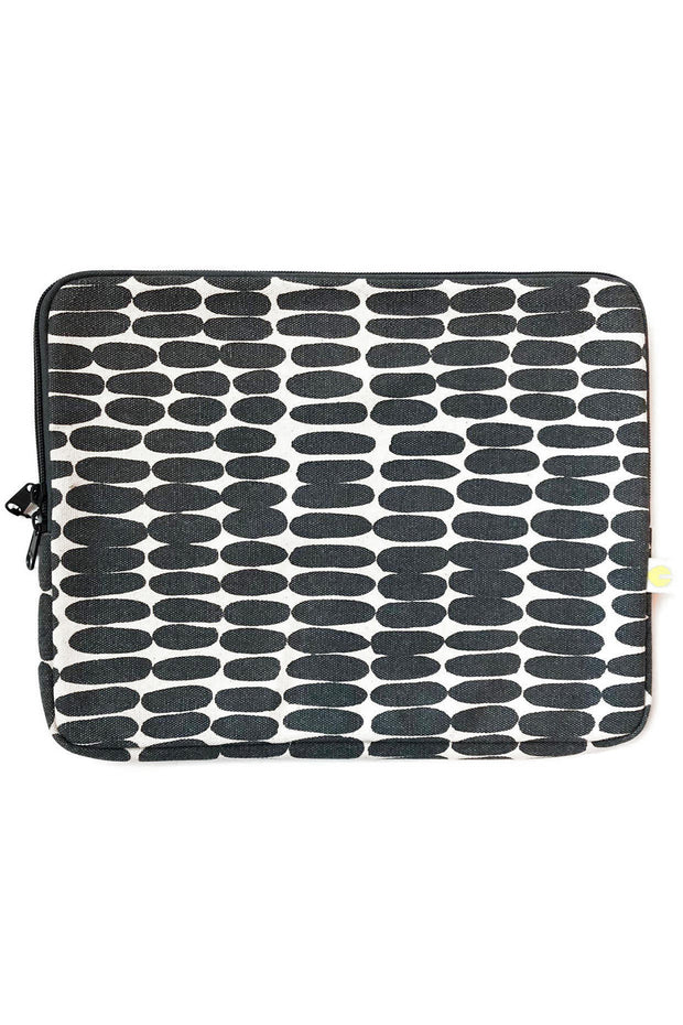 See Design Laptop Cover Husk Coal/White