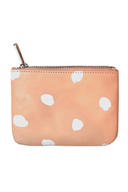 See Design Leather Wallet Dots White Small