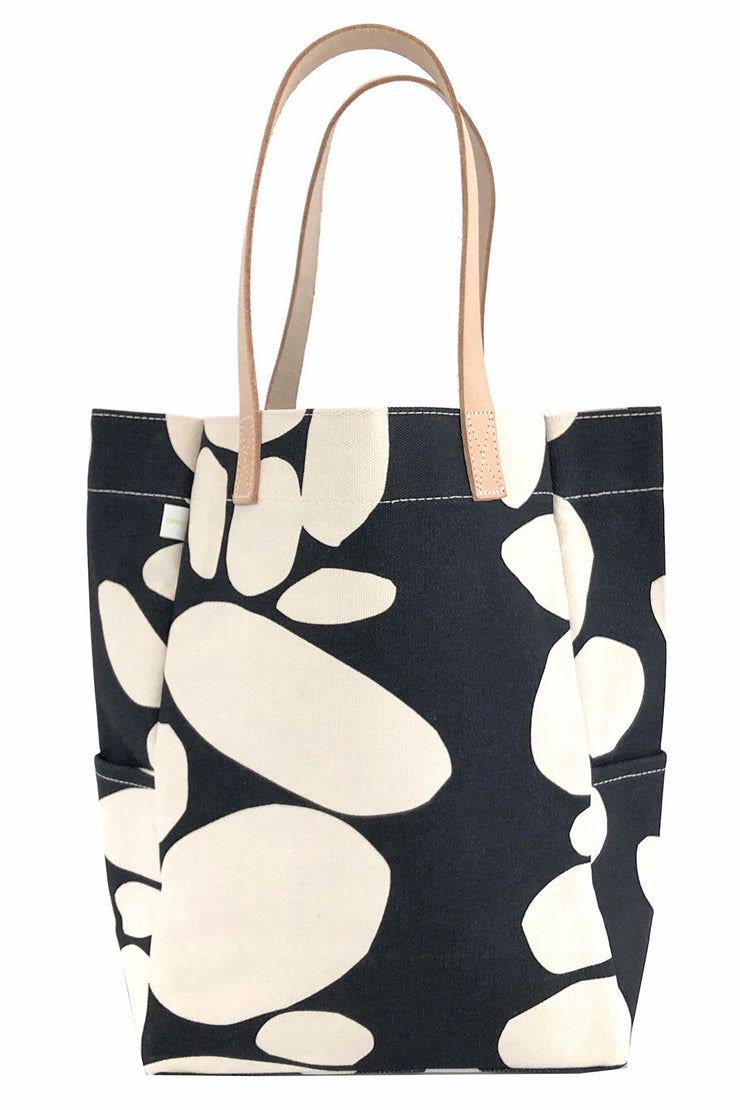 See Design City Tote Bag Totem Black