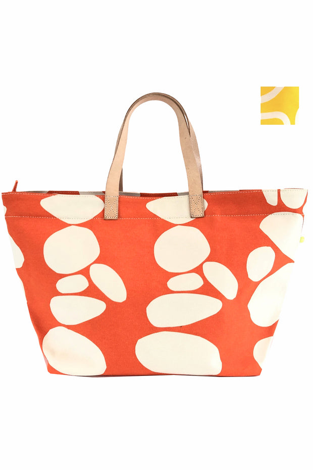 See Design Overnighter Bag Totem Orange