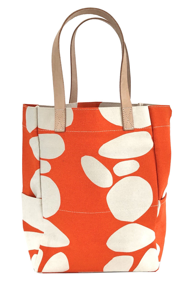 See Design City Tote Bag Totem Orange