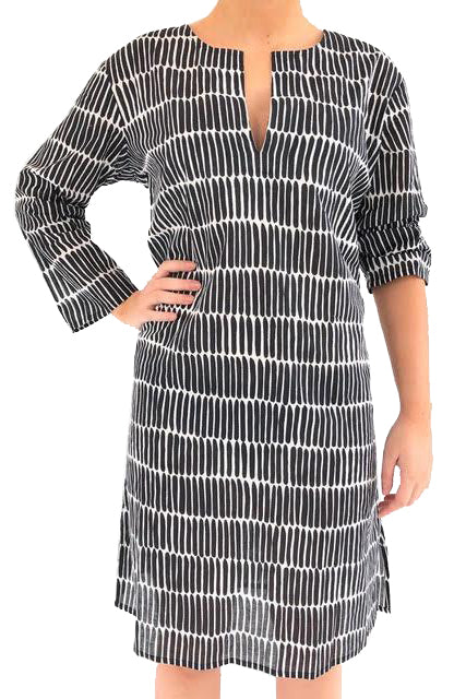 See Design Tunic Fence Black