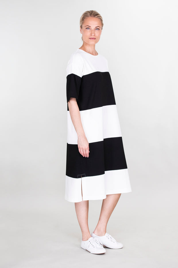 Ritva Falla Enore Dress Black/White