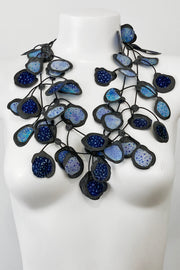 Annemieke Broenink Batiq Necklace Mixed Blue