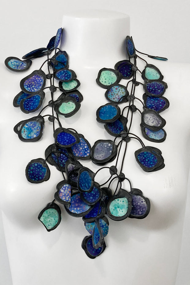 Annemieke Broenink Batiq Necklace Turquoise Mix