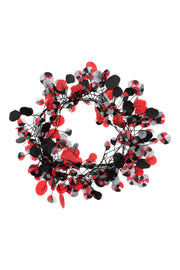Annemieke Broenink Recycled Poppy Necklace Red